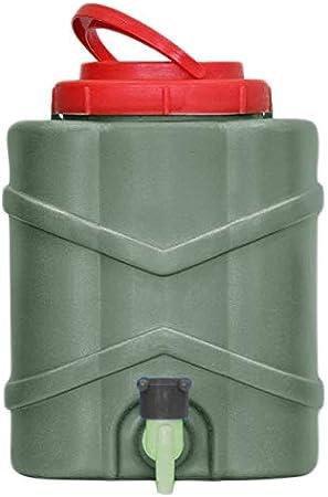 Bidón de agua con grifo lavabo Jardín Portátil stellbar aufhängbar XXL mano Wascher con tapa Capacidad: 9 litros – Depósito de ancho entrada Apertura – Bidón con grifo para jardín 522: Amazon.es: Jardín