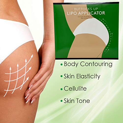 Buttocks Firming Anti Cellulite Solution Applicator it really works for Contouring Tightening Shaping - 6 (pair)