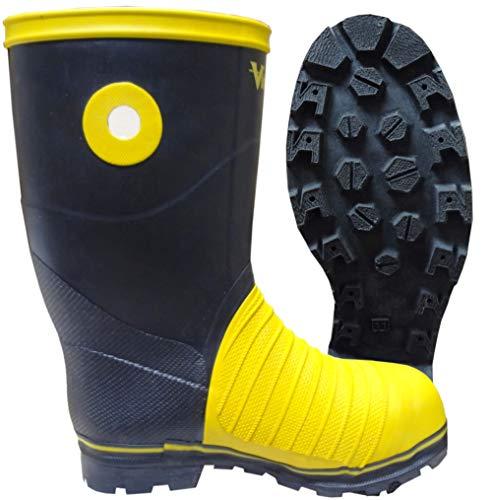 Viking Footwear Mens Miner 49er Mining Boot, Steel Toe & Plate Construction
