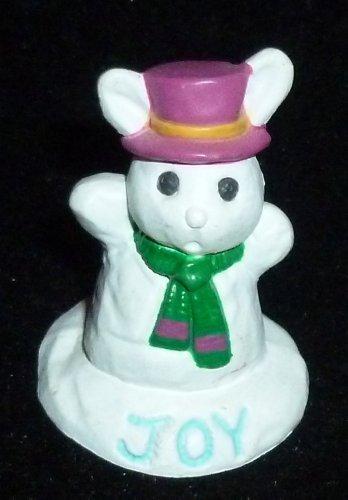 Hallmark Merry Miniature Winter Joy Bunny Rabbit Figurine ()