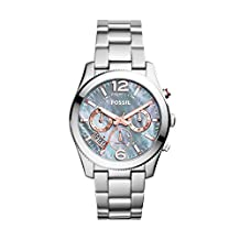 Fossil Women's Perfect Boyfriend-ES3880 Silver Watch