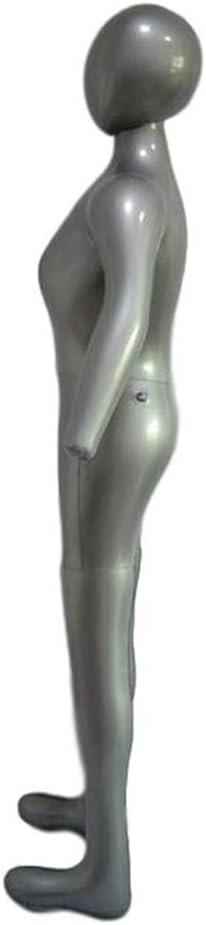 Gonflable Femme Plein Corps Mannequin Robe Forme Mannequin Mannequin avec Pompe Gonflable Utilitaire /à utiliser