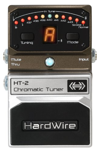 Digitech Chromatic Tuner - DigiTech HT-2 HardWire Chromatic-Tuner Extreme-Performance Pedal