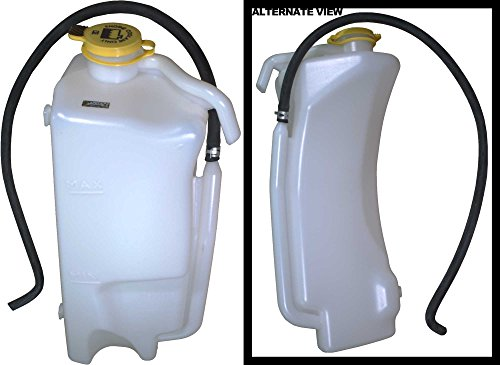 Plastic Reservoir (APDTY 133901 Coolant Overflow Plastic Bottle Reservoir Tank 2007-2011 Jeep Wrangler 3.8L (Replaces 55056542AE) (Length: 18 Inches Width: 8.5 Inches Height: 6.5 Inches))
