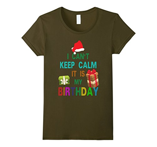 Womens Cool Birthday with Merry Christmas costume ideas T-shirt Large (Mother And Son Costumes Ideas)