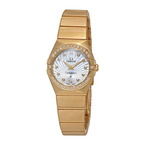 Omega Constellation Mother of Pearl Dial Watch 12355246055003
