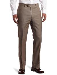 Men's Flat-Front Suit Separate Pant