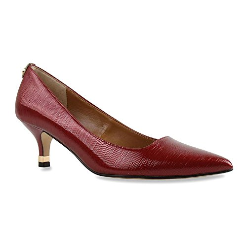 J.renee Womens Braidy Dress Pump Red