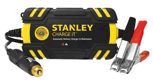 Stanley 2 amp waterproof battery charger & maintainer