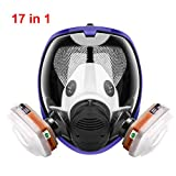 17in1 full face Protective Respirator Rubber