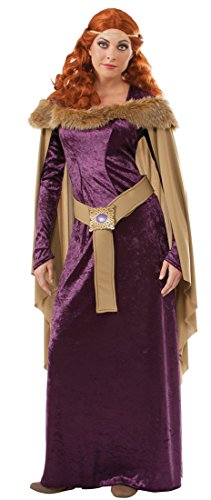 Time Period Medieval Costumes (Rubie's Costume Blood Line Adult Charlemagne Costume, Multi,)