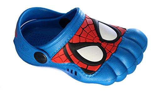 Spiderman Clogs Sandalen Badeschuhe Hausschuhe Größe 23