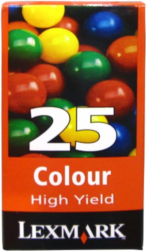Lexmark High Yield High Resolution Color Print Cartridge #25