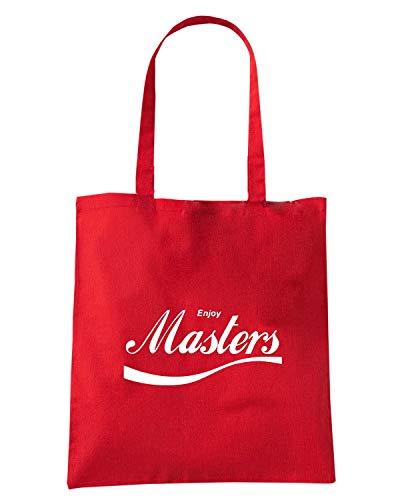 MASTERS ENJOY0064 Borsa ENJOY Shopper Rossa xqwTCnS1