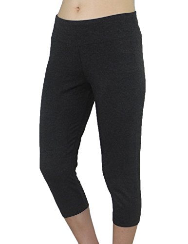 Womens Bally Total Fitness Sports Skinny Leggings / Yoga Capri Pants