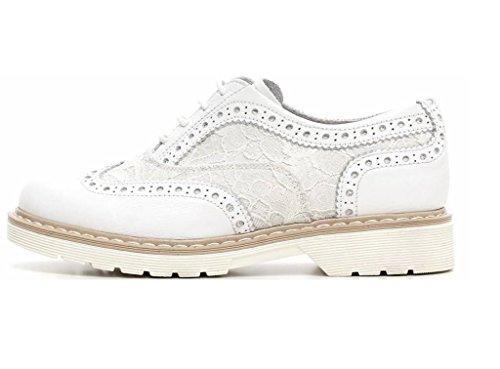 Nero Giardini Junior - Zapatos de cordones para mujer Bianco