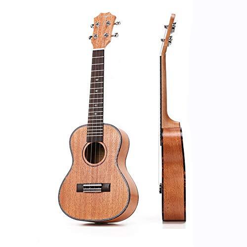 Diapasón y puente de ukelele de palisandro de 4 cuerdas, guitarra ...