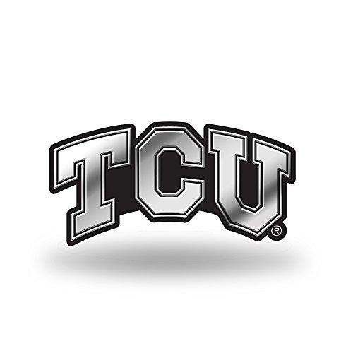 Rico Industries NCAA TCU Horned Frogs Chrome ()