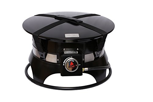 Outland Firebowl 870 Premium Portable Propane Gas Fire Pit with Cover & Carry Kit, 19-Inch Diameter 58,000 BTU by Outland Living (Image #1)
