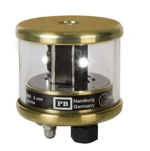 Peters + Bey LED Towing Navigation Light - Brass