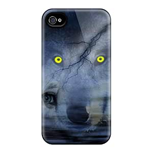 Waterdrop Snap-on Night Of Wolves Cases For Iphone 6