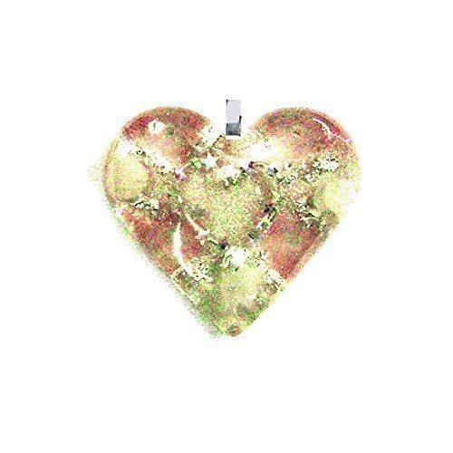 Orgone Heart Pendant, Pretty Pink, Heart Chakra, Sooths Pain, Calming Effect