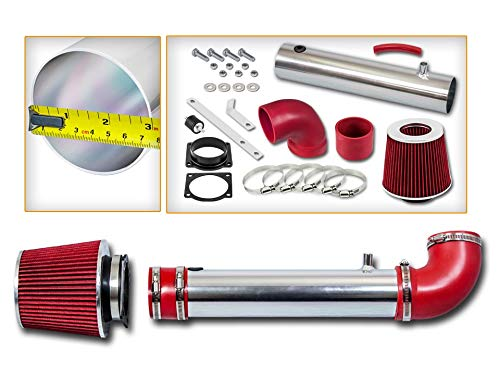 Rtunes Racing Short Ram Air Intake Kit + Filter Combo RED For 95-00 Ford Explorer/Ford Ranger / 95-00 Mazda B4000 OHV V6
