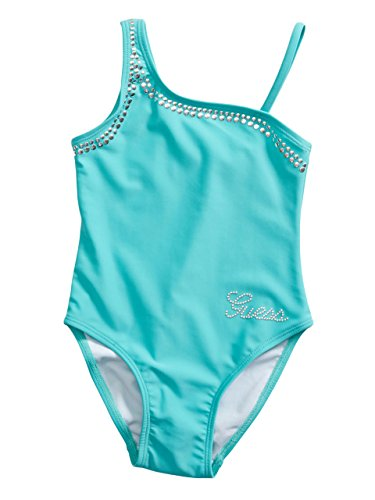 GUESS Kids Little Girl Studded One-Piece Swimsuit (2-6x)