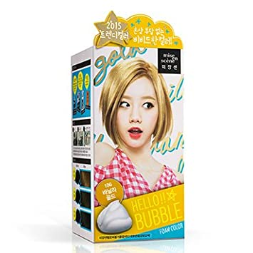 Amazon.com: No-damage Easy Self Hair Dye Smelless Mise-en-scene ...
