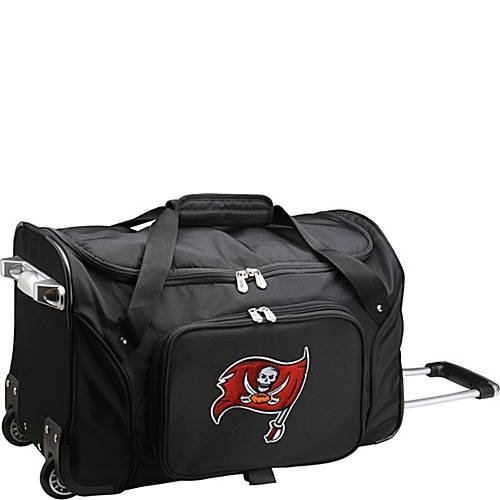 NFL 22'' Rolling Duffel Tampa Bay Buccaneers by TableTop King