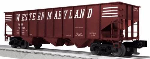 LionScale Western Maryland 3-Bay 9-Panel Hopper 6-Pack - Lionel # 3-16130