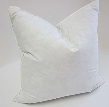 65cm x 65cm square euro continental duck feather pillow pair by bedding direct uk