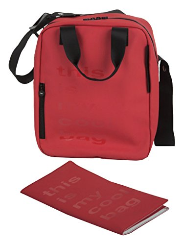 Be Cool Papa Bag - Bolso cambiador, color rojo Rojo