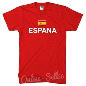 De la Bandera de España + Country T-Shirt España de balón de ...