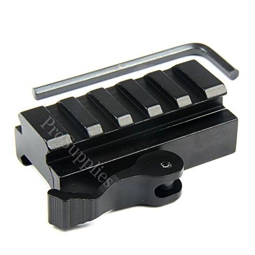 TACFUN 5-Slot Quick Release Detach QR QD 1/2 Mini Riser Bloc