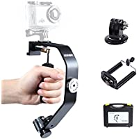 Sevenoak SK-W08 Video Mini Handheld Grip Gimbal Stabilizer for Gopro Hero 3 3+ 4 Sony RX0 iPhone 7 7plus 6 6s Plus Android Smartphones