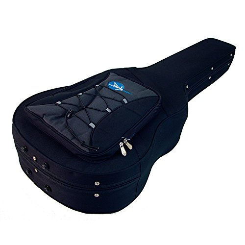 ProRockGear Armourguard Light Weight Polyfoam Dreadnought Acoustic Guitar Case