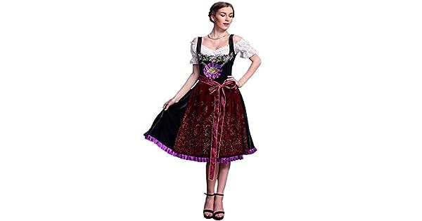 Amazon.com: Hanbintod - Vestido de mujer alemán con traje de ...