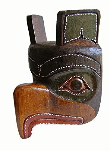 TIKI o Máscara de nativo americano Totem 24 cm de altura para colgar en la pared