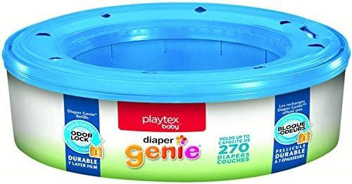 Playtex Diaper Genie Refill 1350 Total - (5 Pack 270 Count Each)