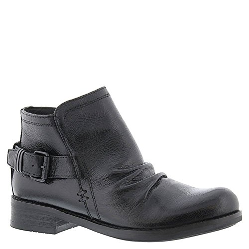 Bussola Norfolk Nella Dakota Da Donna In Carbonio Grigio Ankle Boot In Pelle Dakota Carbon