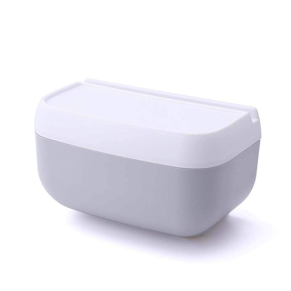 Living room tissue box Multi-Function, Punch-Free, Bathroom and Toilet Tissue Box Cover, Creative, Waterproof Shelf Tissue Box.