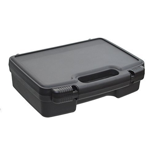Portable travel projector carry hard case w dense foam for Pocket projector case