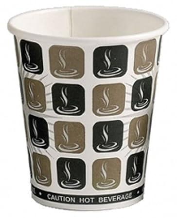 100 x 10 ml, colore: caffè, tè e caffè, parete singola, usa e ...