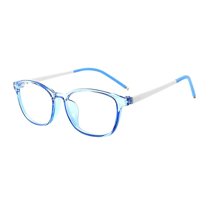 4d3d4789cf Goyajun Niños UV Proteccion Gafas - Blue Light Blocking Vidrios Computadora  Juego Anteojos HD Lentes Cute Vasos para Kids 3-12 Años Antiguo: Amazon.es:  Ropa ...
