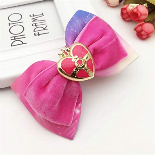 Costum Sailor Moon - Anime Pretty Soldier Sailor Moon Luna Cosplay Costumes Badge Headwear Bowknot Hair Pin Clip - Boys Pirate Animal Girls Bulk Accessories Costume Dogs Gloves Hats Egyptian]()