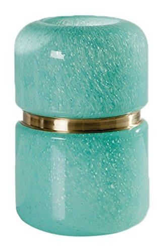 Torre & Tagus 902104C Audrey Brass Ring Deco Vase, Jade, ...