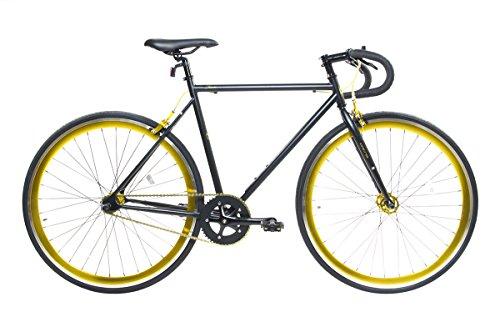 "Alton Corsa Fixie 700C DP-780 Frame Fixed Gear Bike, Black, 19""/Medium Alton USA Corp."