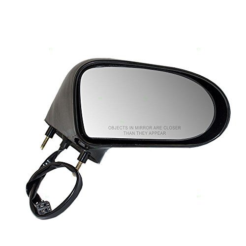 (Passengers Power Side View Mirror Smooth Replacement for Buick Oldsmobile 20744294 AutoAndArt)