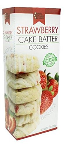 6 oz. Cake Batter Cookies (Strawberry)